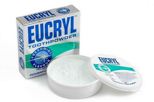Bột tẩy trắng răng Eucryl có tốt không?