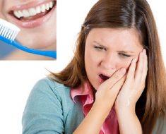 Sau khi nhổ răng khôn 24 giờ đầu, không nên chải răng tránh ảnh hưởng đến vết thương