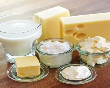 Làm trắng răng từ phô mai và sữa
