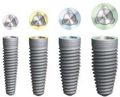 Hiện nay có nhiều loại trụ implant khác nhau trên thị trường